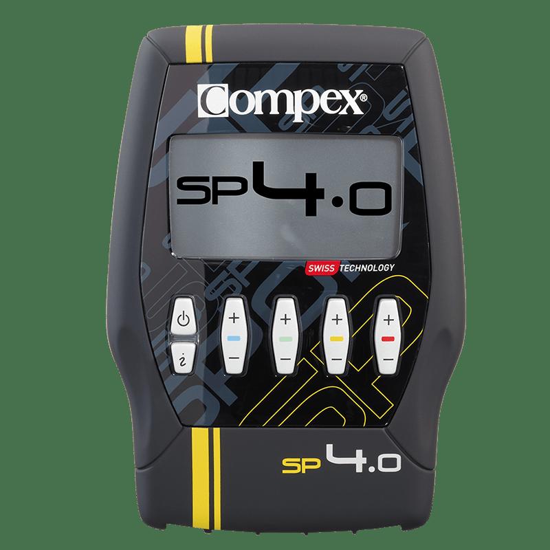 Elektrostymulator Compex SP 4.0 + GRATISY (2 paczki elektrod + żel Compex)