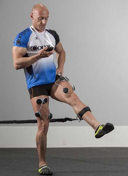 elektrostymulatory przy terapii kolan