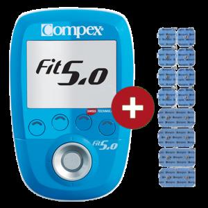 Elektrostymulator-Compex-FIT 50 dodatkowe elektrody od elektrostymulatorynet