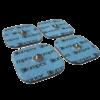 cztery elektrody do elektrostymulatora 5.0
