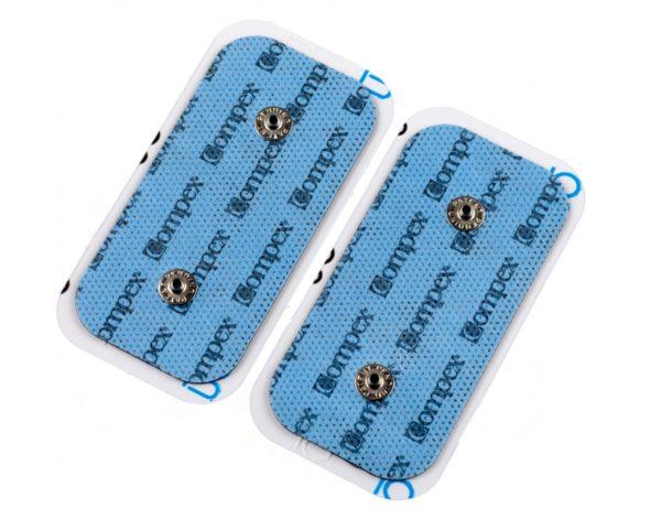 elektrody compex 5 cm x 10 cm podwójny klips