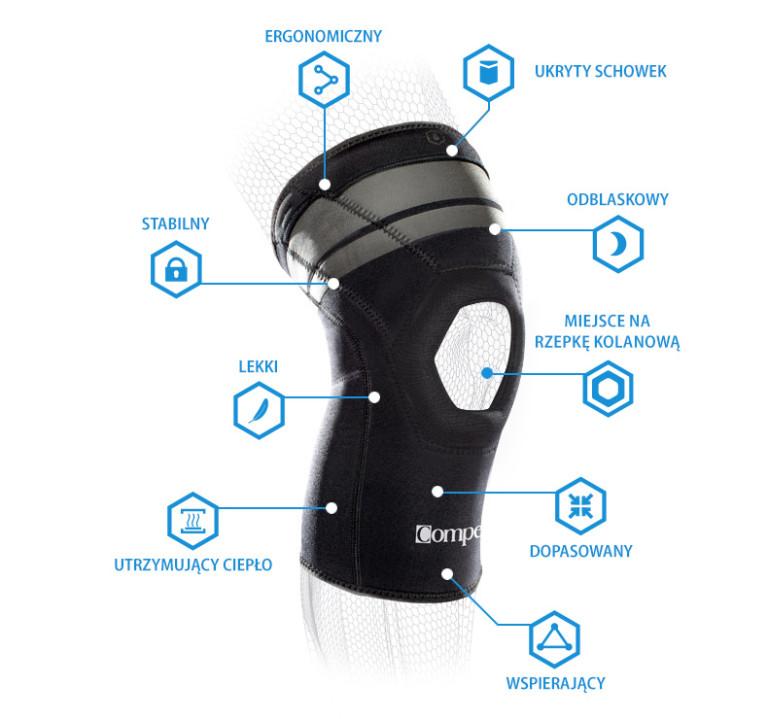 stabilizator na kolano compex anaform