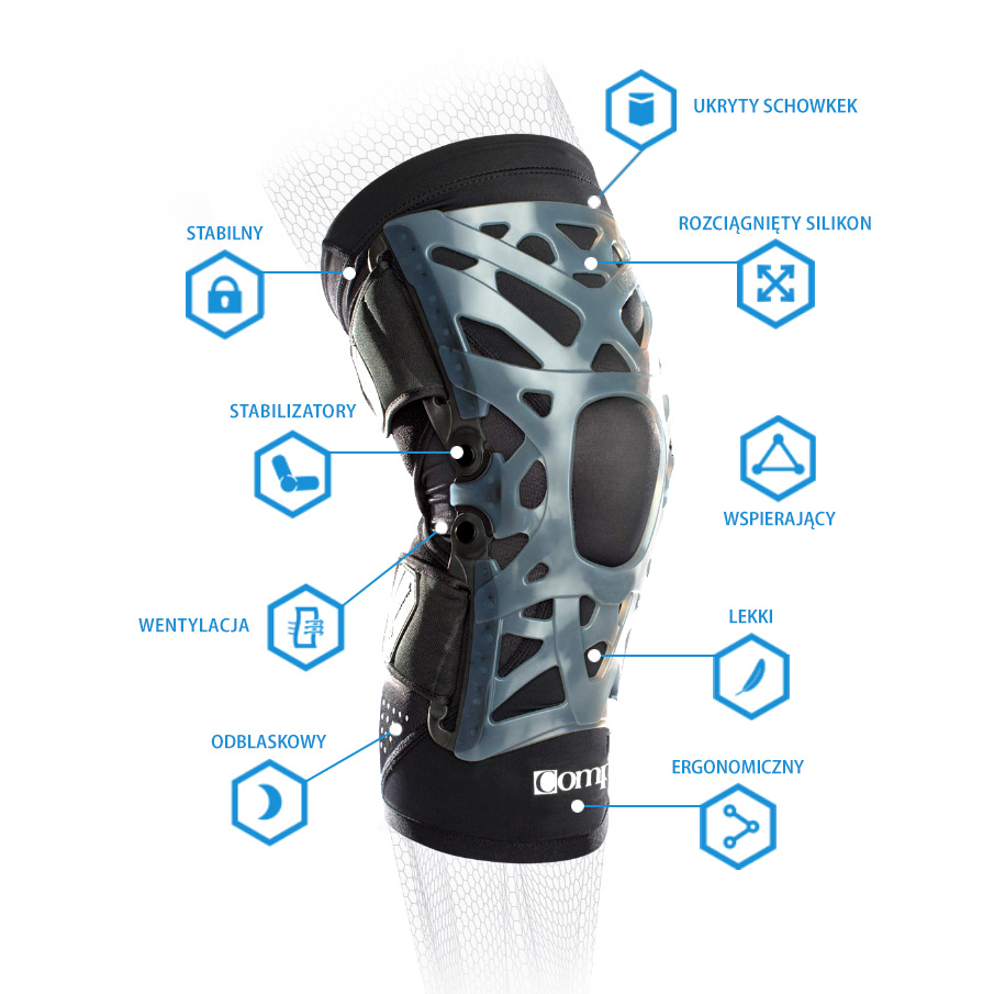 stabilizator na kolano compex webtech knee