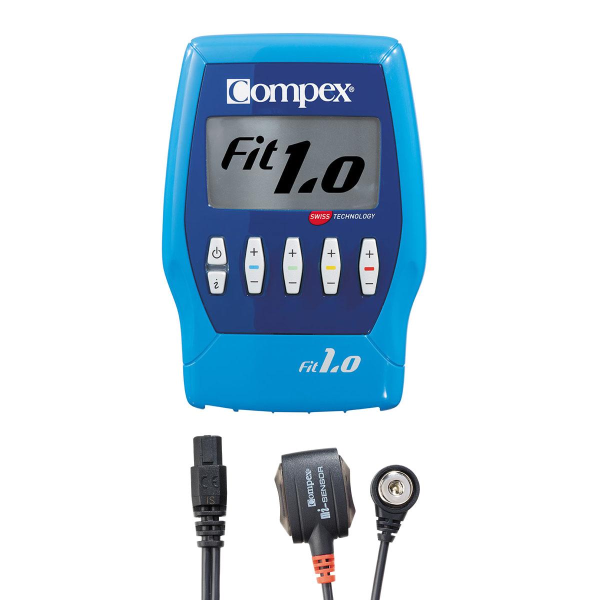 Elektrostymulator Compex FIT 1.0 akcesoria sensory