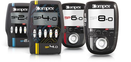 elektrostymulatory Compex Seria Sport