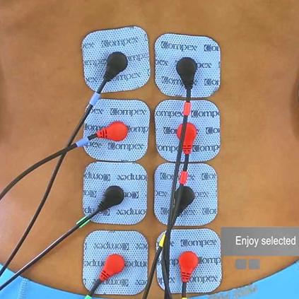 Bóle kręgosłupa ułożenie elektrod