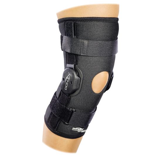 Stabilizator Orteza DONJOY Deluxe Hinged Knee Sleeve z regulacją konta zgięcia