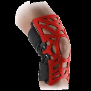 czerwony stabilizator stawu kolanowego donjoy reaction brace elektrostymulatory