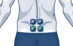 electrodes back compex