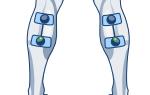 electrodes compex leg