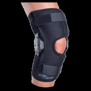 Stabilizator Orteza DONJOY Deluxe Hinged Knee WrapAround z regulacją konta zgięcia