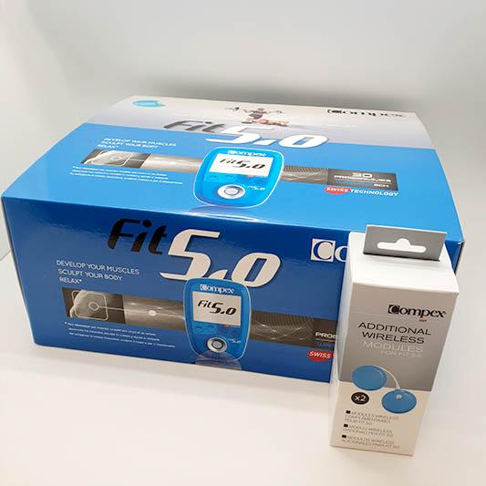 Elektrostymulator-Compex-FIT 50 moduly pudelko