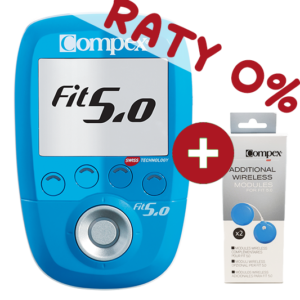 Compex-FIT 50 raty 0% dodatkowe moduly upgrade 4 kanaly
