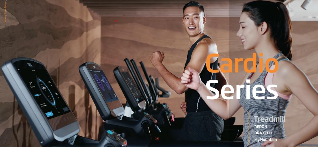 Modele biezni cardio od Drax Fitness opartych o potrzeby uzytkownikow