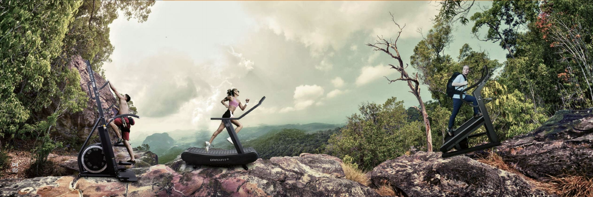 Sprzet Cardio Drax Fitness nawiazuje do natury