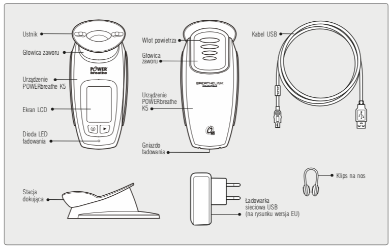 powerbreathe kseries instrukcja obslugi