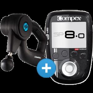 masazer wibracyjny fixx 10 i elektrostymulator potreningowy compex sp 80
