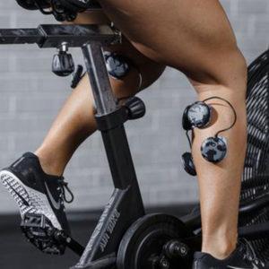 cwiczenia rehabilitacyjne z elektrostymulatorem i na rowerze powietrznym airbike
