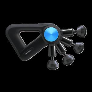 masazer theragun pro z nowym cichym silnikiem i ruchomym ramieniem do masazu