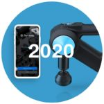 theragun czwartej generacji z aplikacja mobilna