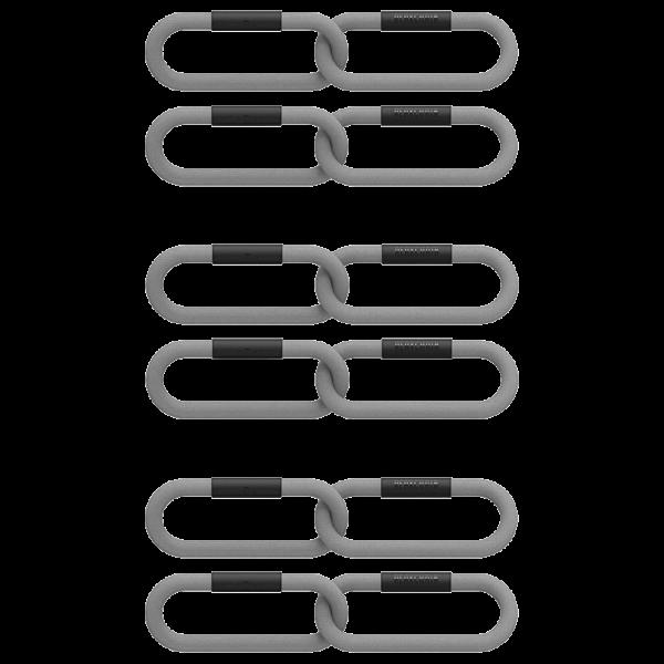 Komplet-Lancuchow-Funkcjonalnych-REAX-CHAIN-TWO-CLUB-3-PAIRS-PACK-1-KG-kolor-szary-
