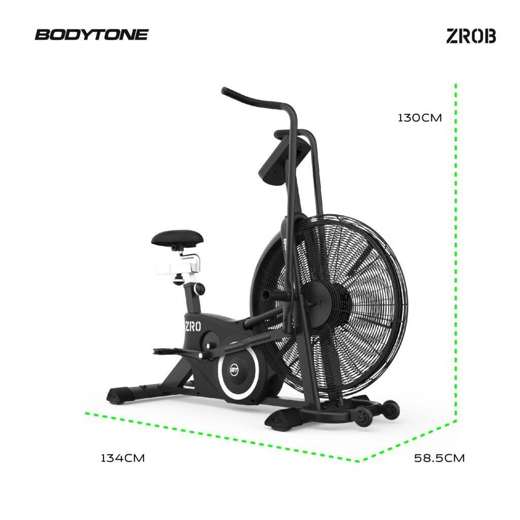 rower-powietrzny-bodytone-airbike-wymiary